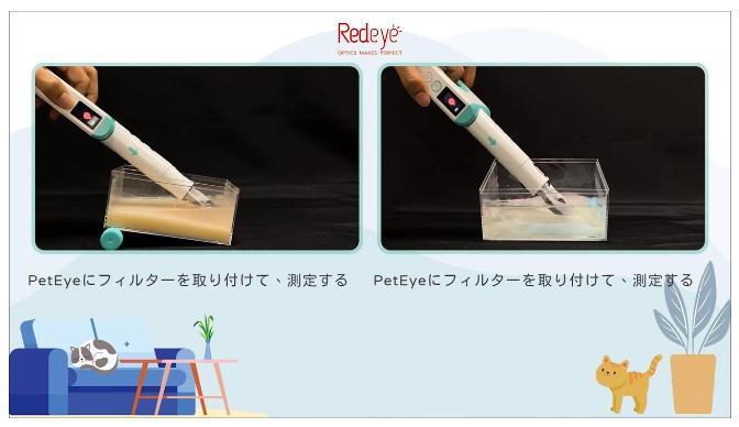 PetEye1 測定方法